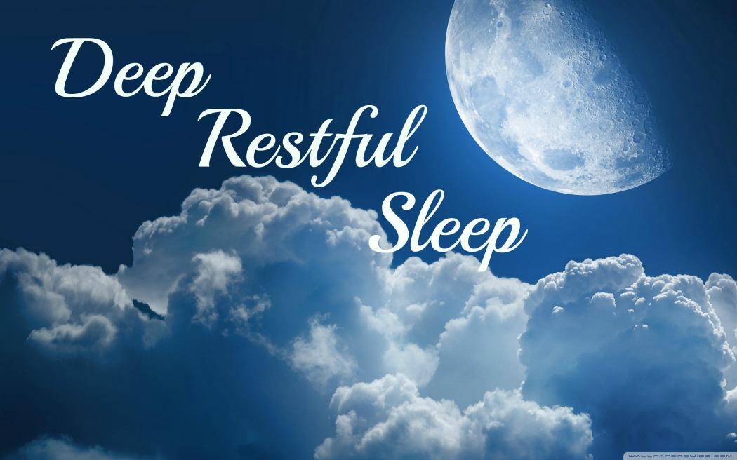 Resultado de imagen de restful sleep